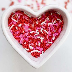 Celebrants 2 U Red Pink and White Heart Icon