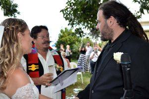 shane smudging Ceremony
