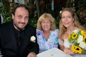 Marriage Certificate Gino, Hannah & Deb