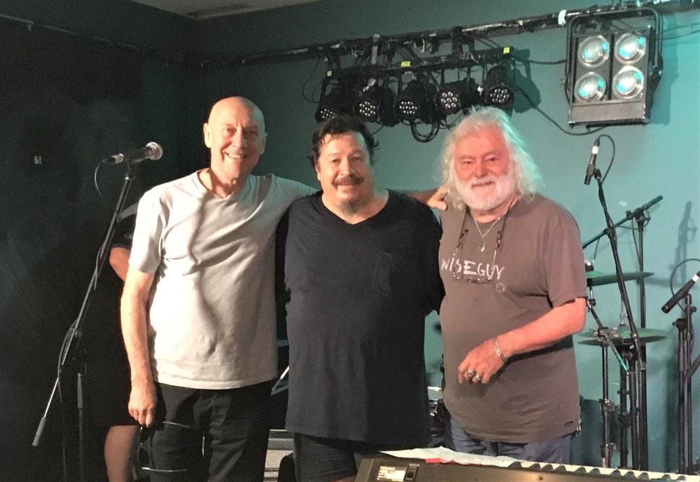 Kellsy with Russel Morris & Brian Cadd