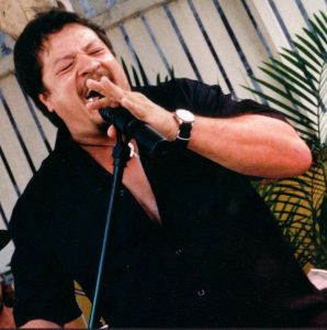 wedding ceremony entertainment image of Shane (Kellsy) singing